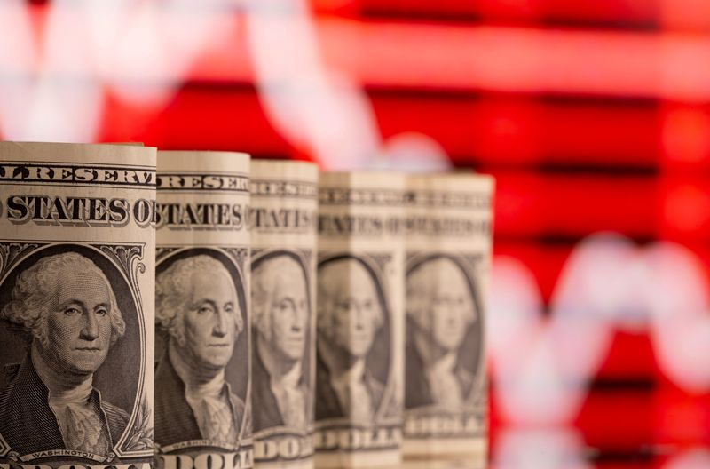 Dollar jumps after Fed pulls interest rate hikes into 2023