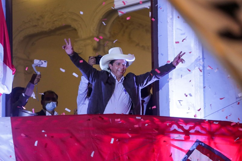 'We are not communists': Castillo seeks to allay fears in divided Peru