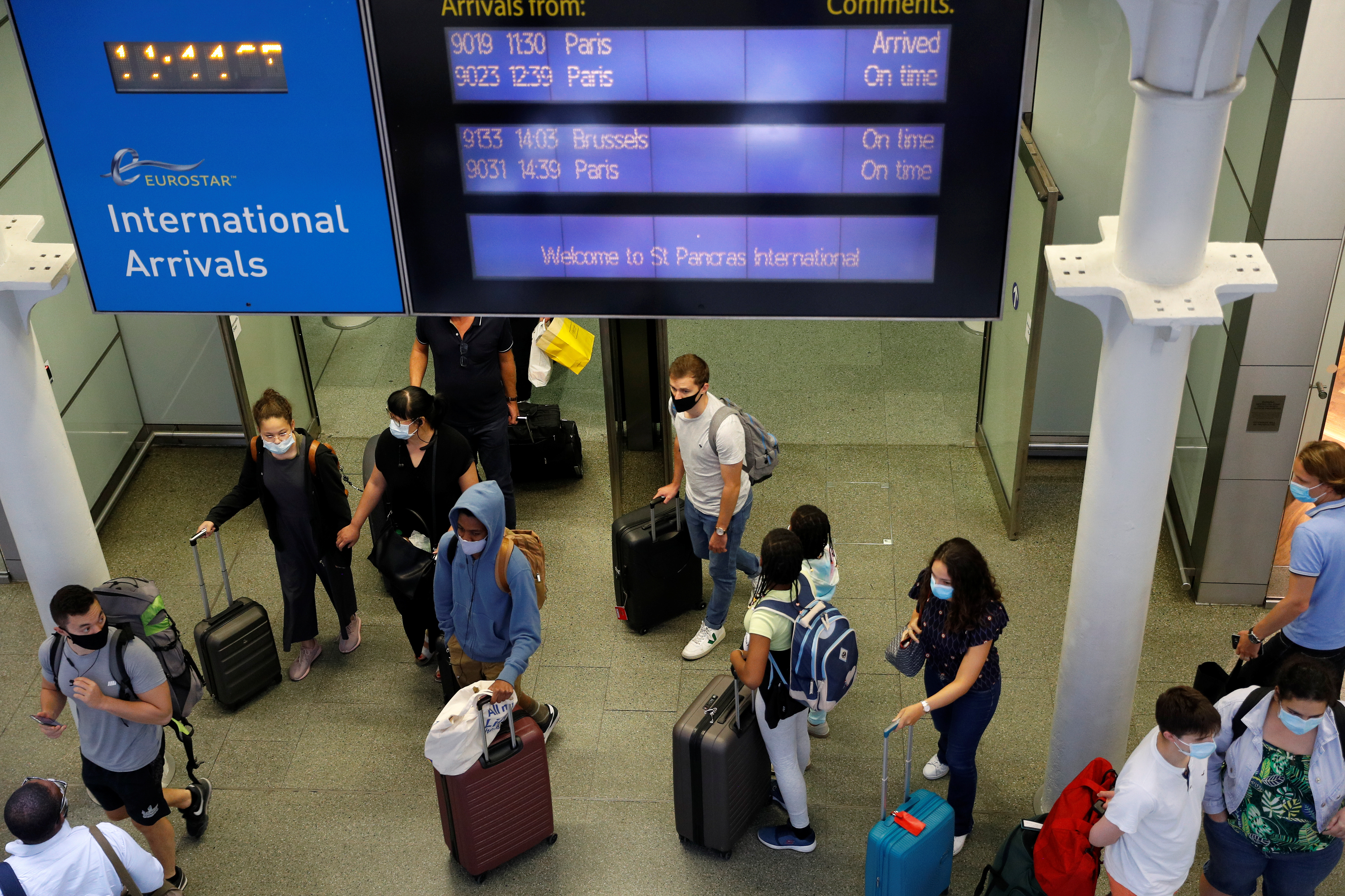 Britain considers vaccine passports to restart international travel