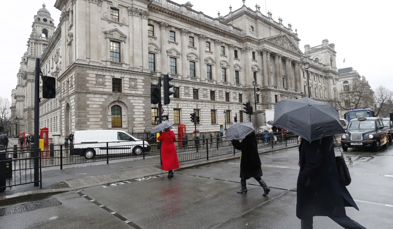 Britain's Treasury gets 1 billion stg windfall from repaid furlough cash -FT