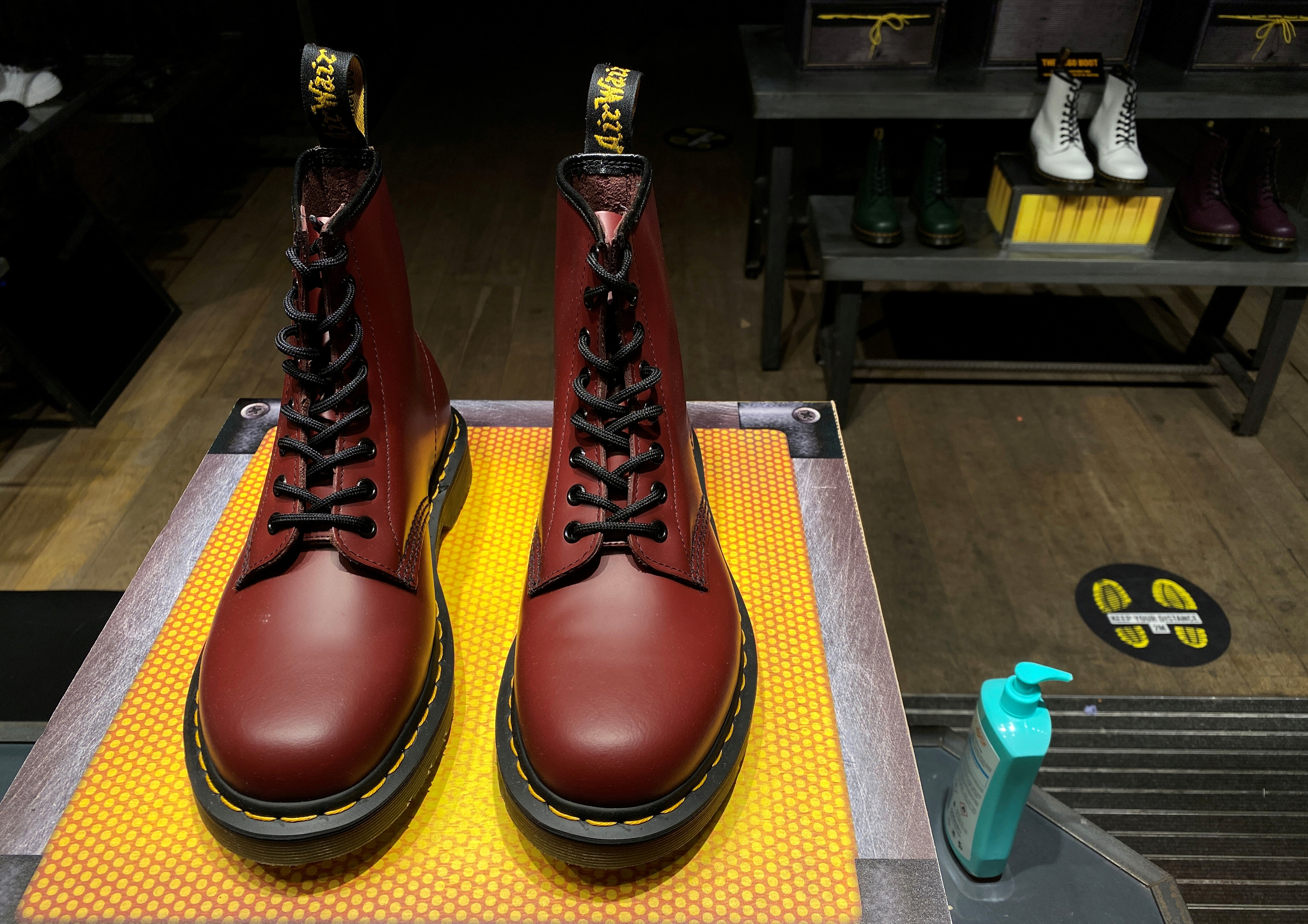 Dr. Martens kicks off listed status with 22% earnings rise