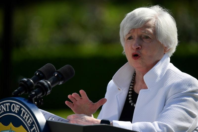 米、ハイパーインフレの危険性なし=イエレン財務長官