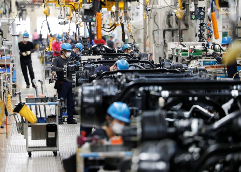 BOJ tankan to show manufacturers' Q2 mood improved: Reuters poll