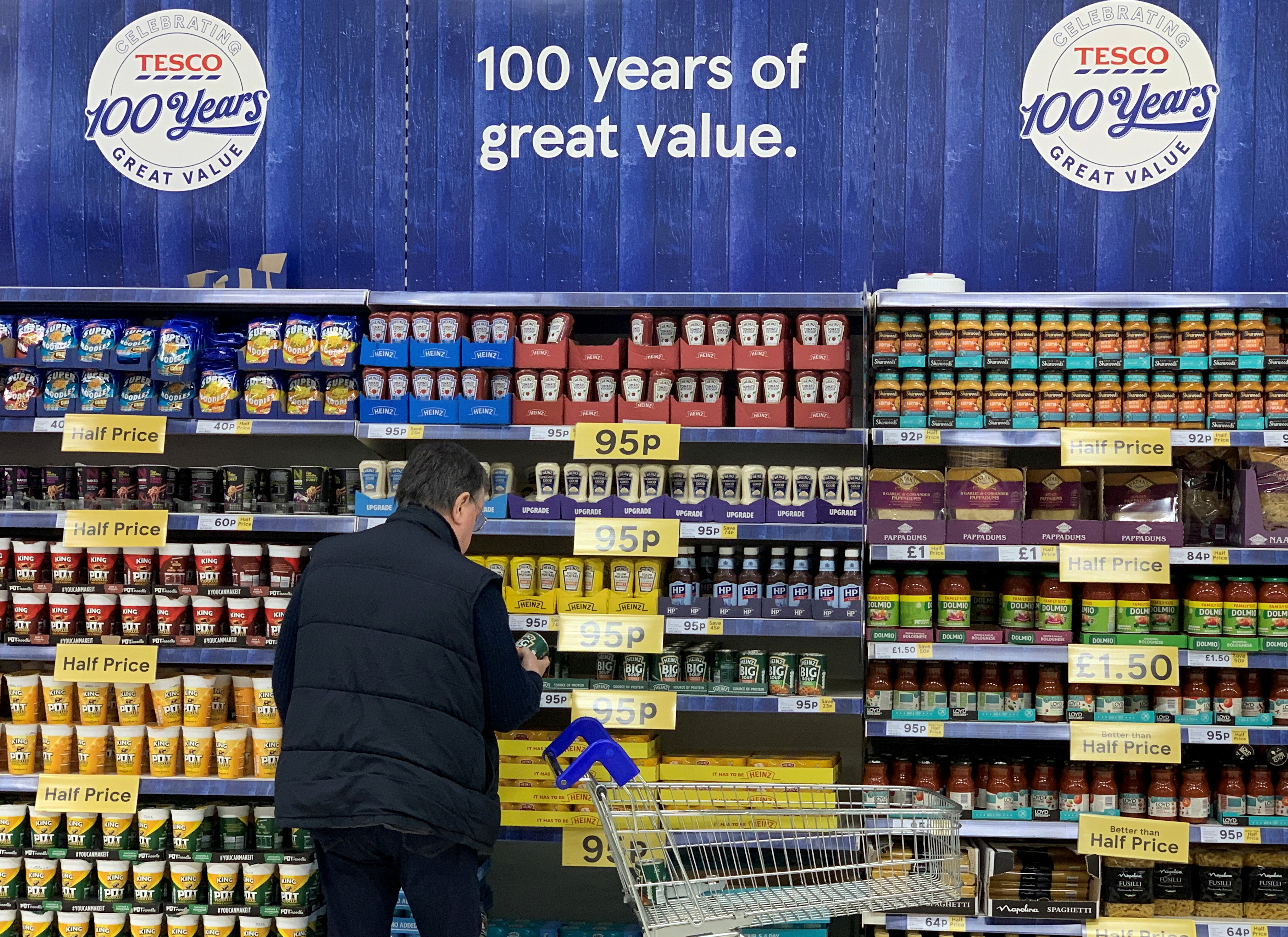 Tesco's UK sales growth slows as pandemic restrictions ease
