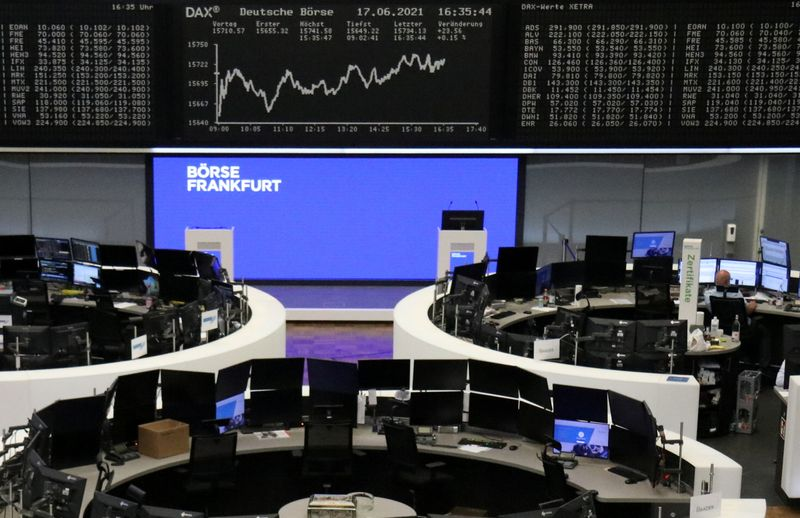 European shares deepen losses after hawkish Fed comments