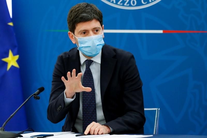 Italia introduce quarantena e obbligo test per arrivi GB - Speranza