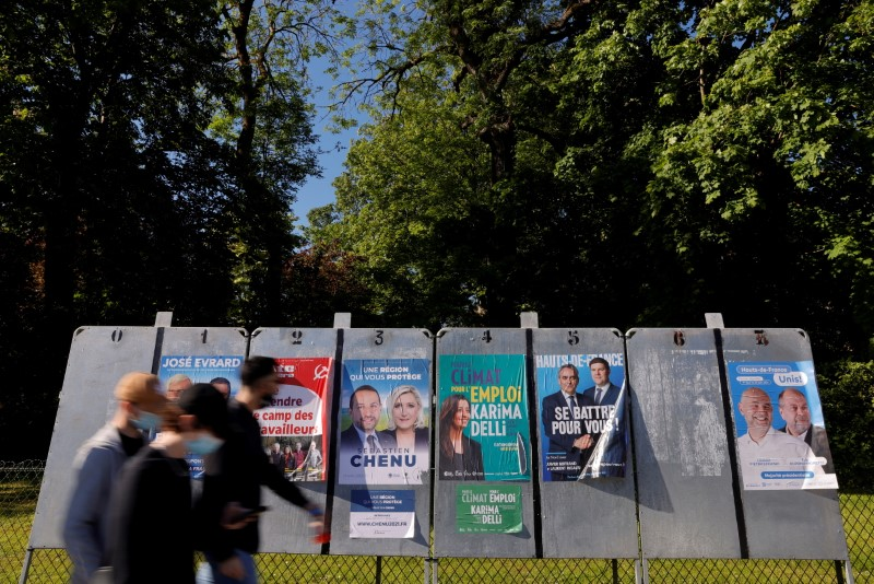 French far right irked by election results, southern region in play