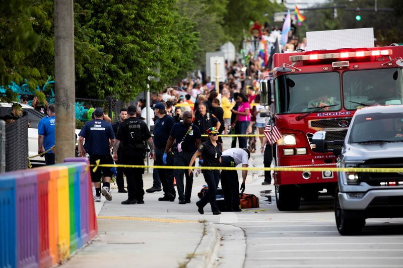 Driver in Florida pride parade crash was 77-year-old participant