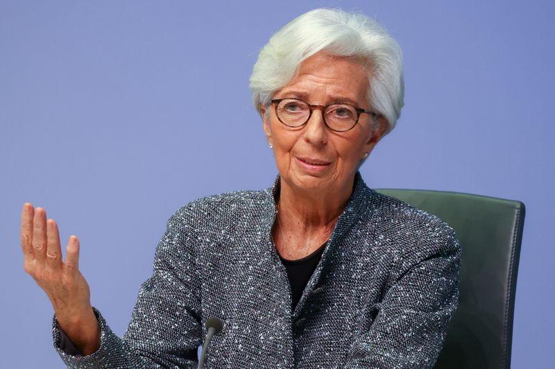 ECB makes good progress on new strategy, Lagarde says