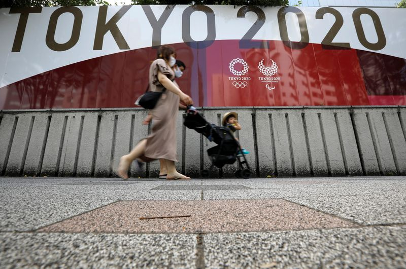 Olympics-Parched Tokyo residents criticise reported alcohol sales plan