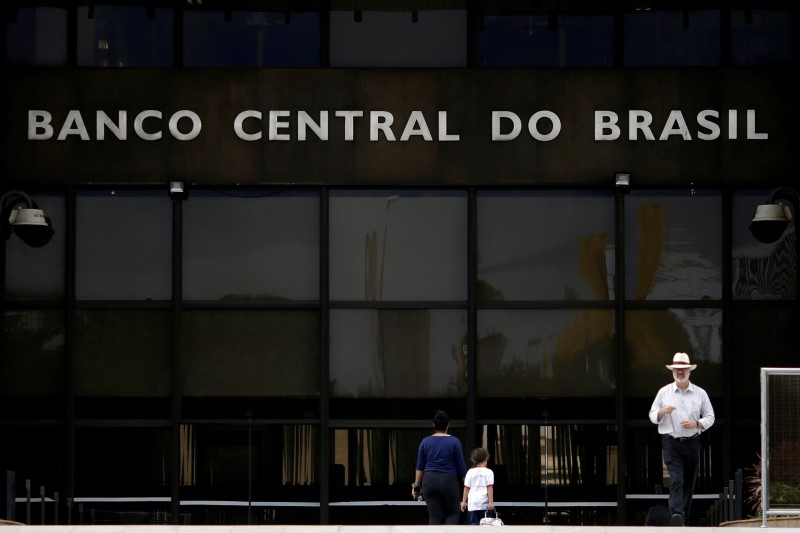 Brazil cenbank minutes raise possibility of 100 bps hike at next meeting