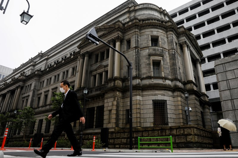 Bank of Japan policymakers saw prospects of quicker recovery in April