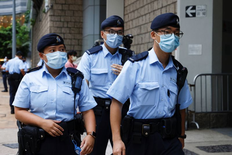 Trial of first person charged under Hong Kong's national security law begins