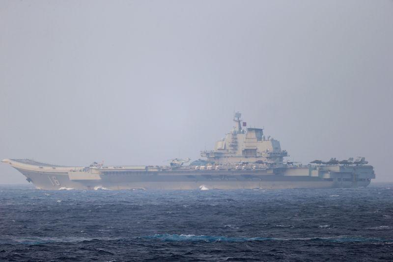 Un navire de guerre américain traverse le détroit de Taïwan