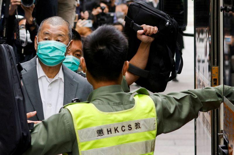 Pro-Beijing media in Hong Kong denounce 'traitor' Jimmy Lai