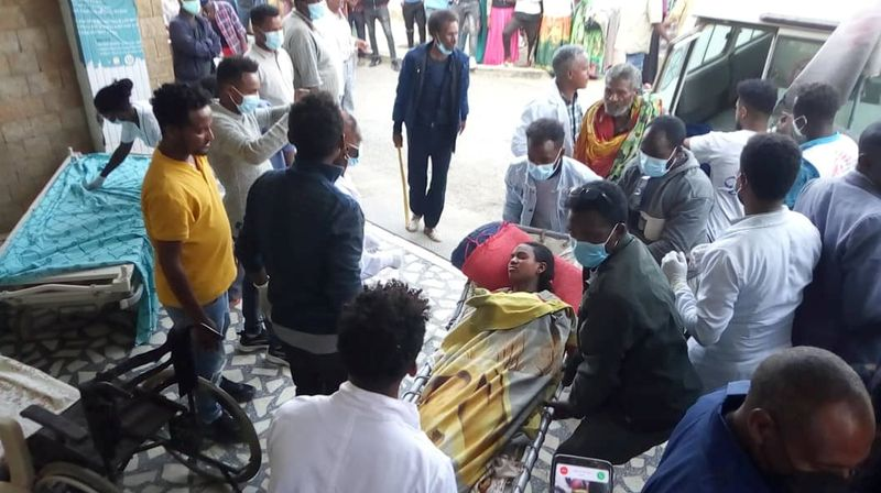 Medical official: air strike kills at least 43 in Ethiopia's Tigray