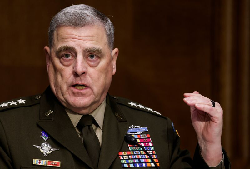 Top U.S. general hits back at right-wing uproar over racism teachings