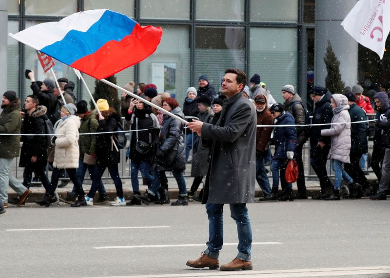 Russia opposition figure says election bid blocked over Navalny support