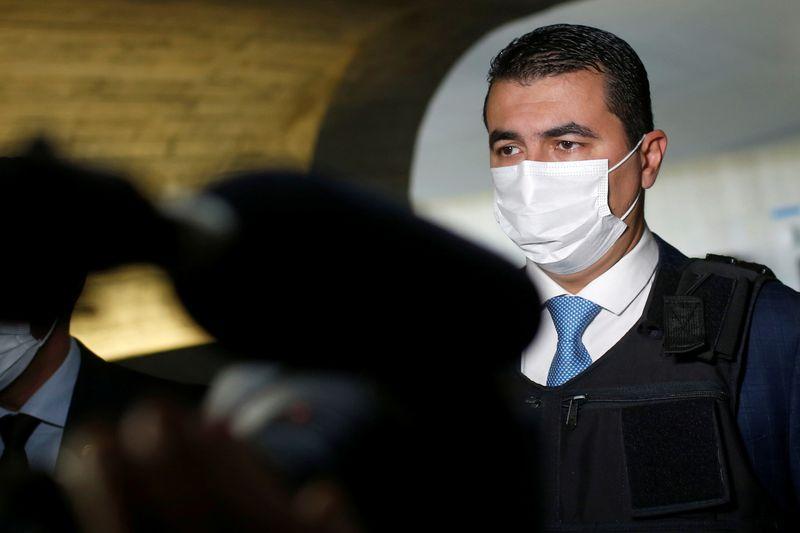 Brazilian lawmaker denouncing vaccine deal wears bullet-proof vest to hearing