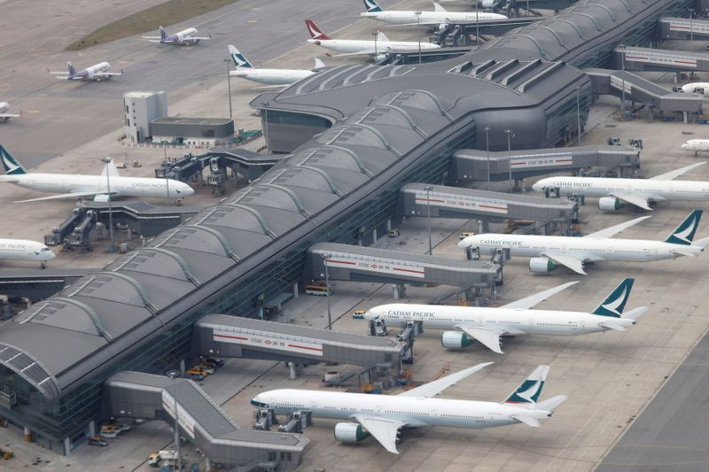 Cathay Pacific forecasts reduced monthly cash burn in second half
