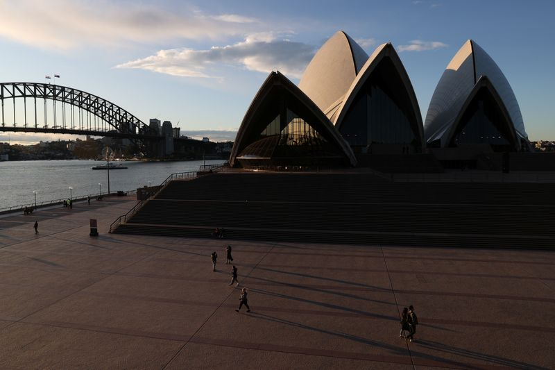 Analysis: Shut off from the world, Australia fosters red-hot growth at home