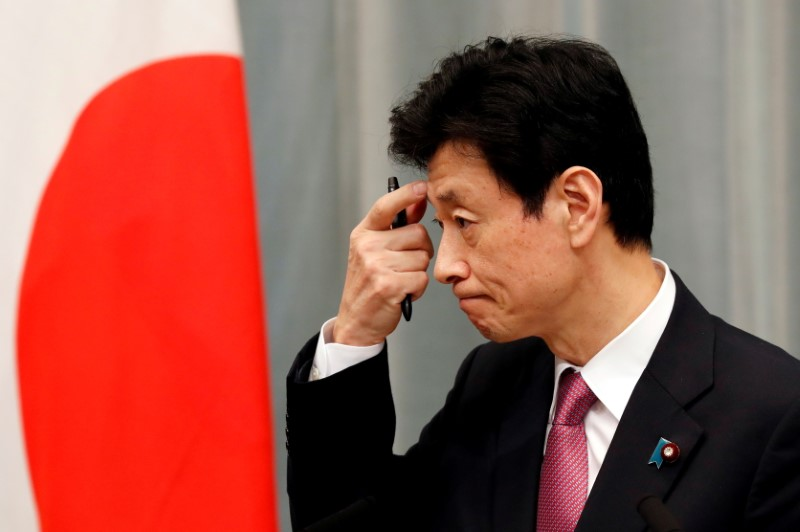 Japan's consumption helped by declining coronavirus infections - economy minister