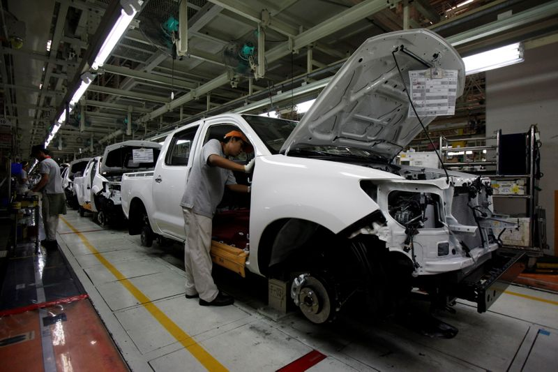 Thailand's booming autos exports help plug gaping tourism hole
