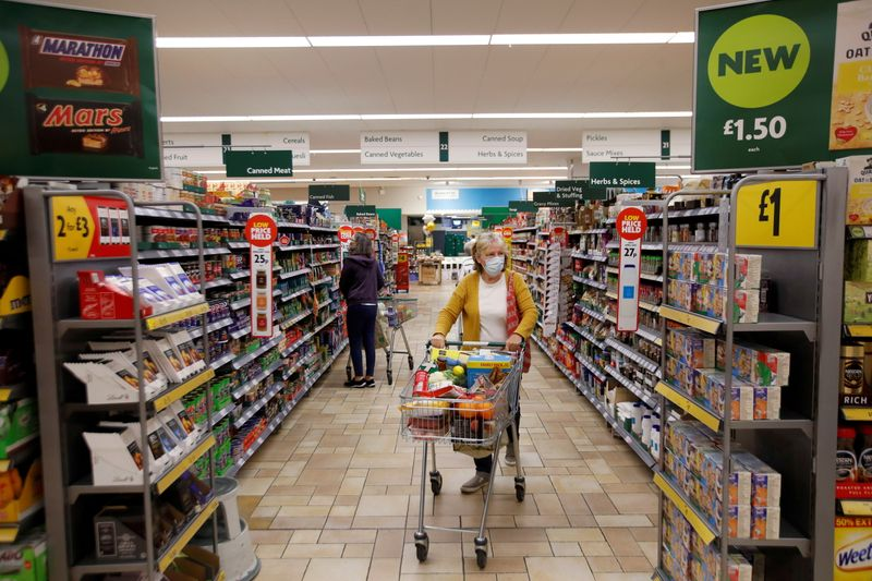 UK shop prices fall faster but inflation pressures mount - BRC