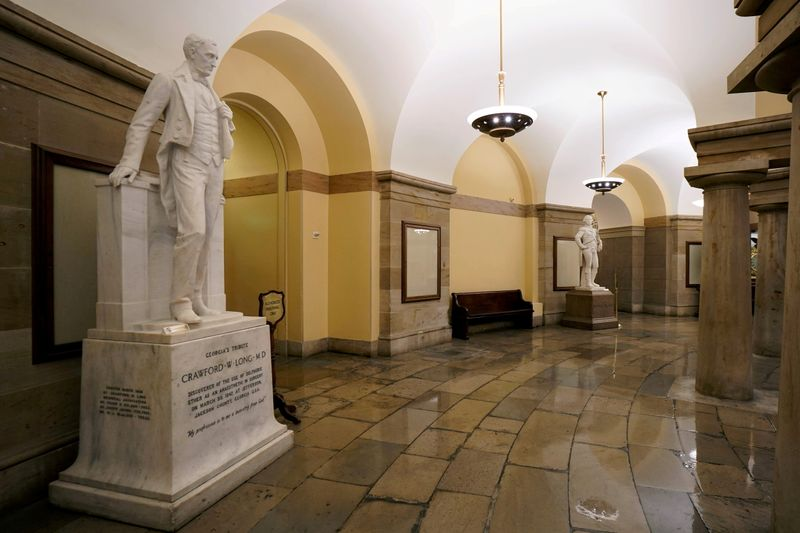 U.S. House passes bill to remove Confederate statues from Capitol