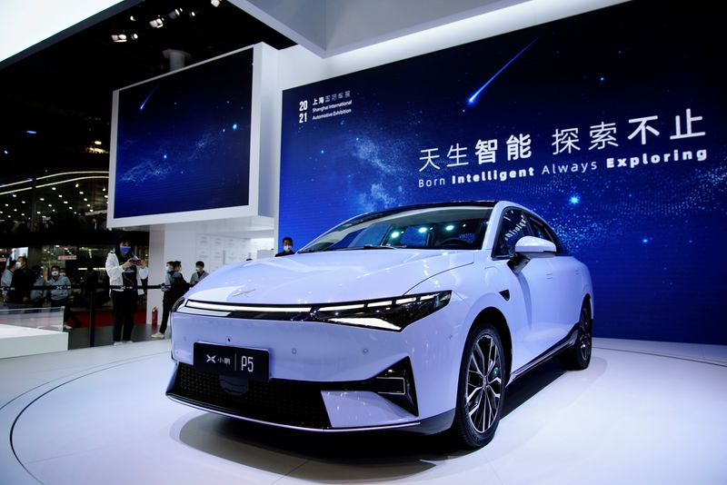 Chinese EV Maker Xpeng to raise $1.8 billion in Hong Kong listing -sources