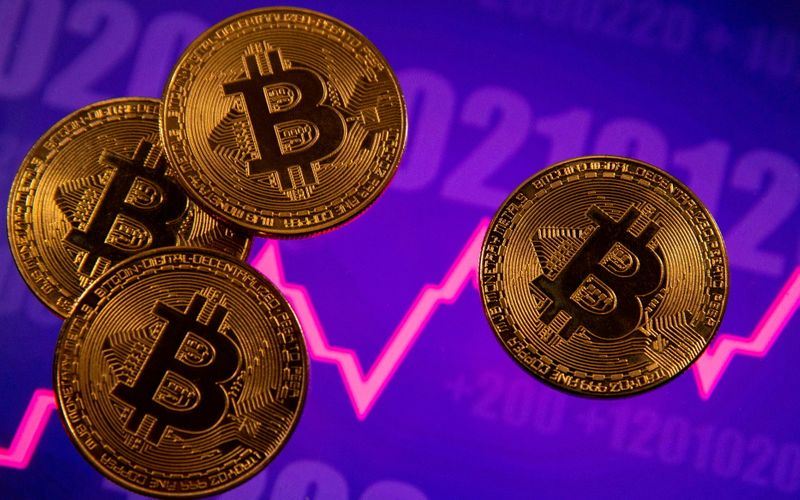 Graphic: Boom, bust and bewildered - Bitcoin's year so far