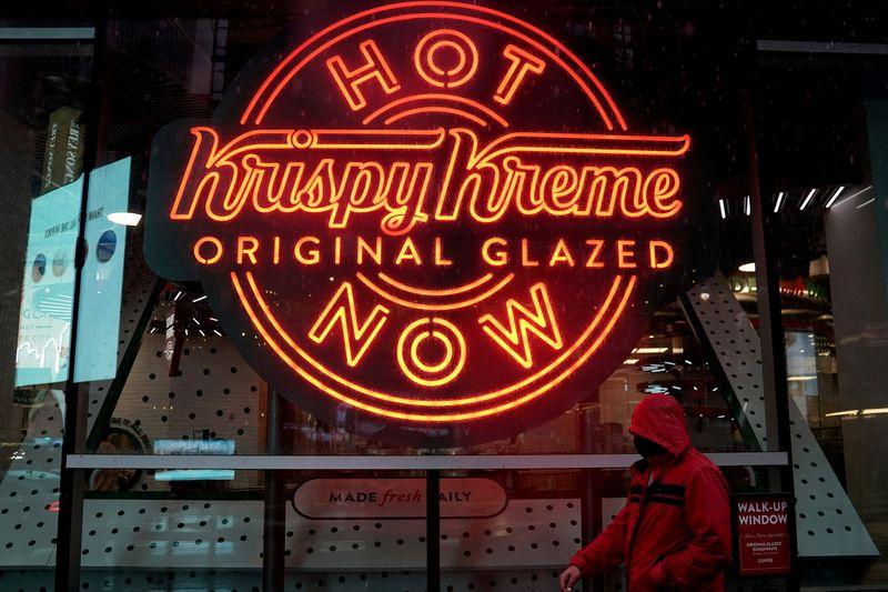 Krispy Kreme raises $500 million after pricing U.S. IPO below range
