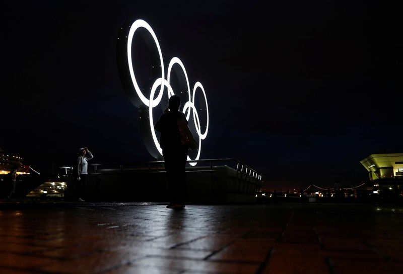 Olympics-Japan PM says no spectators possible as Samoa withdraws weightlifters