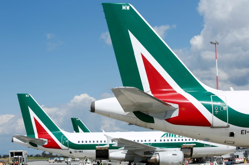 EU regulators, Italy clear key hurdle for Alitalia's successor