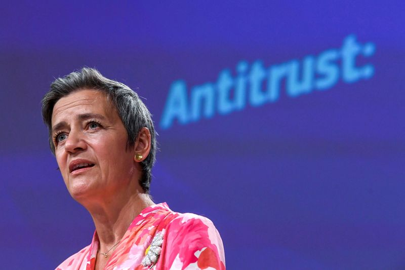 Imposta digitale Ue coprirà centinaia di imprese - Vestager