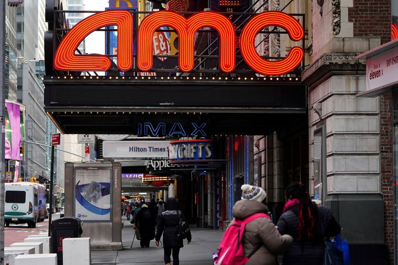 AMC shares down after research house signals short position