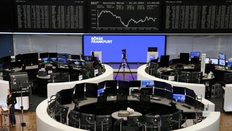 شركات الرقائق ترفع أسهم أوروبا وقطاع البنوك يحد من المكاسب
