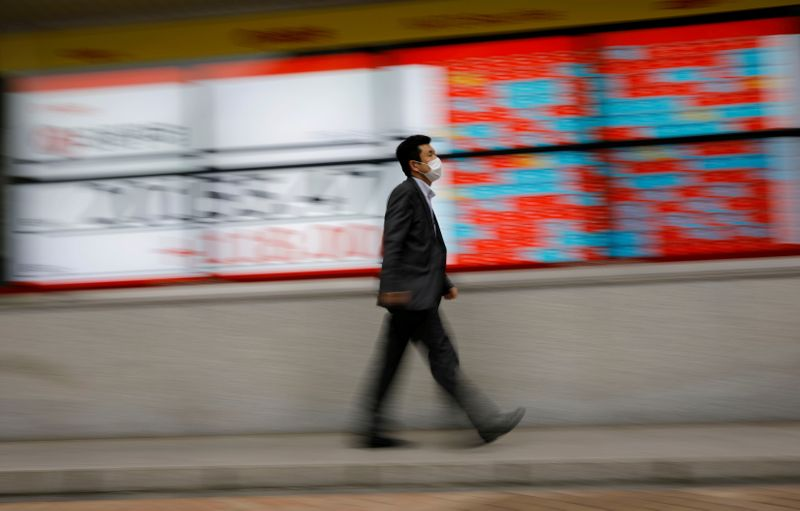 World shares hold near record highs