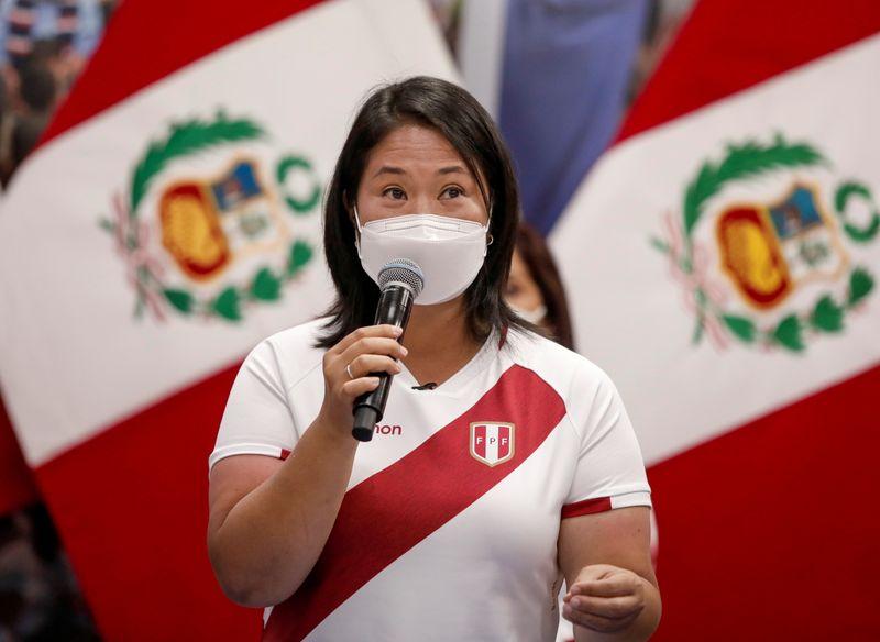 Procuradoria do Peru investiga Keiko Fujimori por áudios sobre suspeita de suborno na eleição