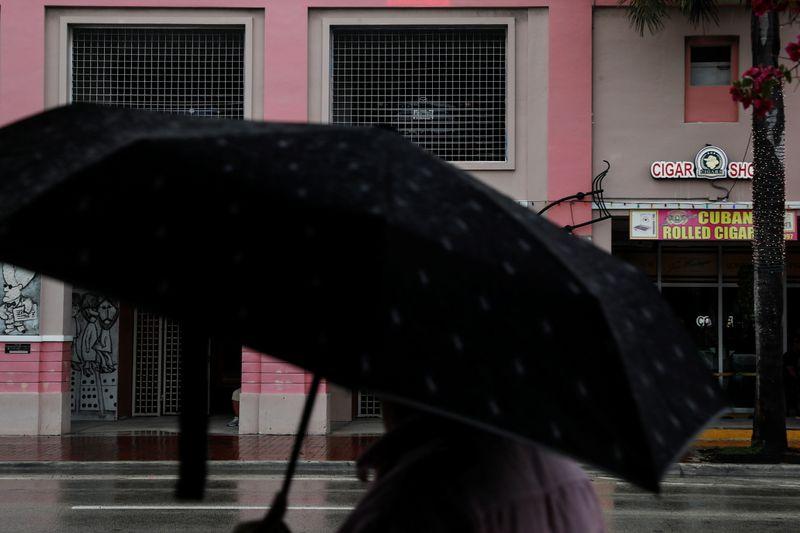 First hurricane of season, Elsa hovers off Florida Gulf Coast