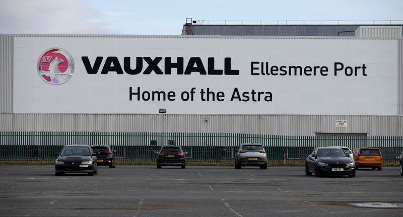 UK Vauxhall factory gets new lease of life with electric vans