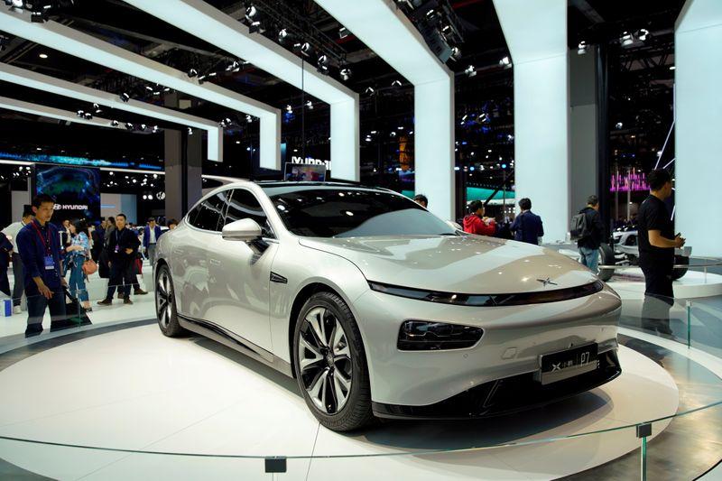 Shares of China EV maker Xpeng set to open up 1.8% in Hong Kong debut