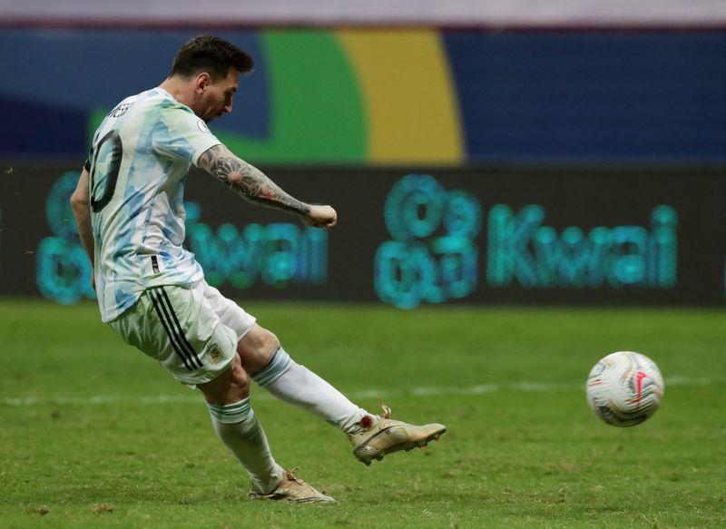 Argentina vence a Colombia por penales y definirá la Copa América con  Brasil Por Reuters