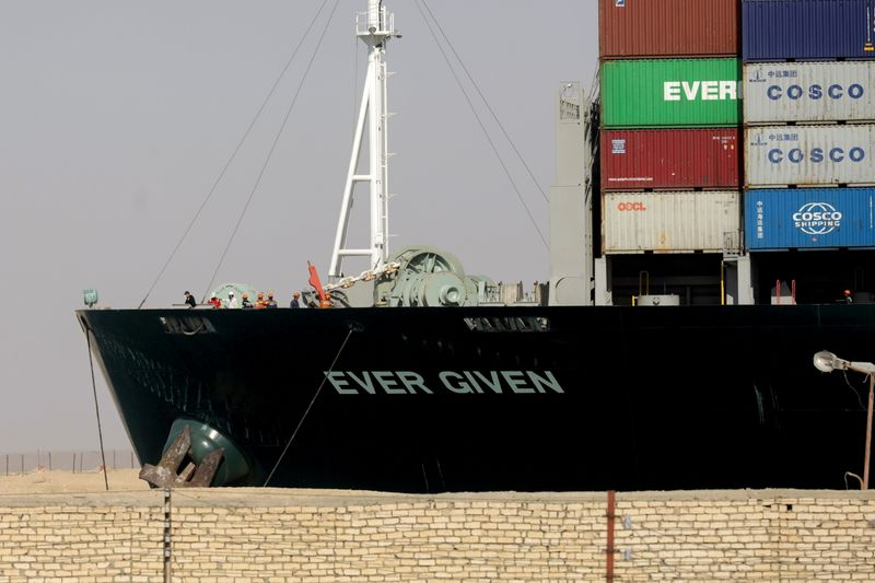 Ever Given container ship leaves Suez Canal 106 days after getting stuck