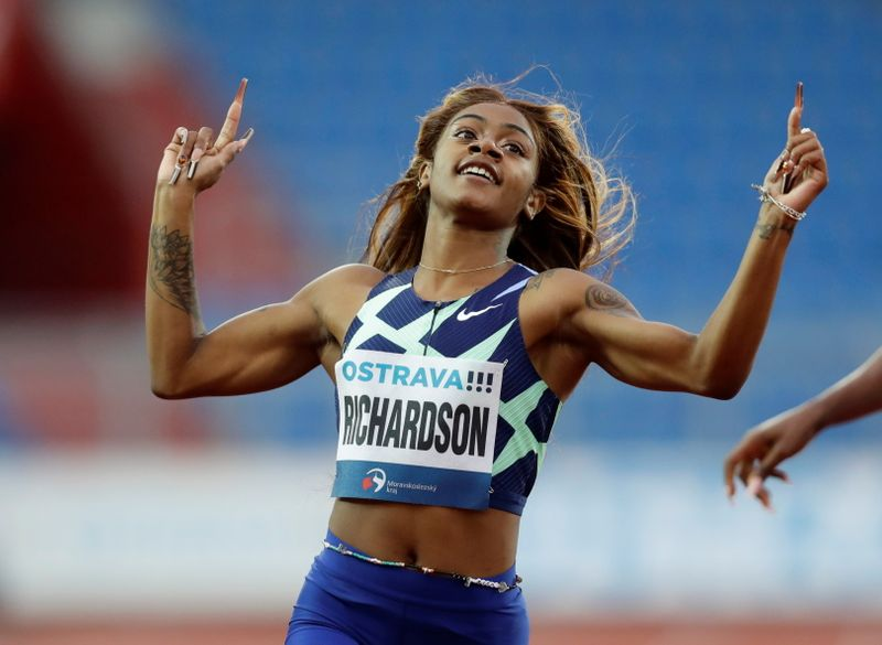 Olympics-White House recommends rule review after Richardson ban