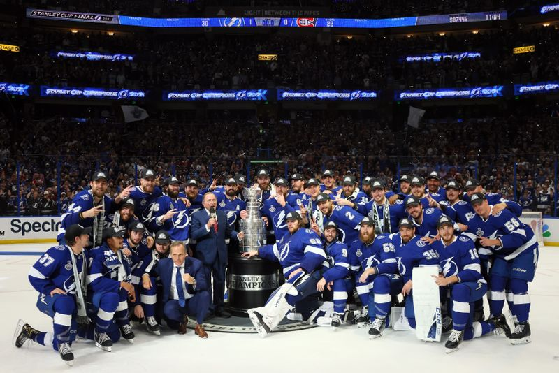 NHL-Tampa Bay beat Montreal to retain Stanley Cup