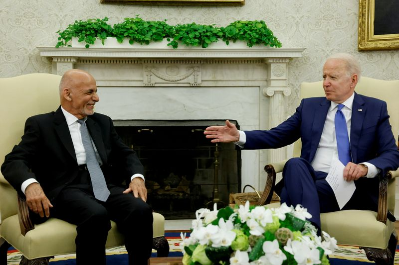 Biden says Afghans must decide own future; U.S. to leave on Aug. 31