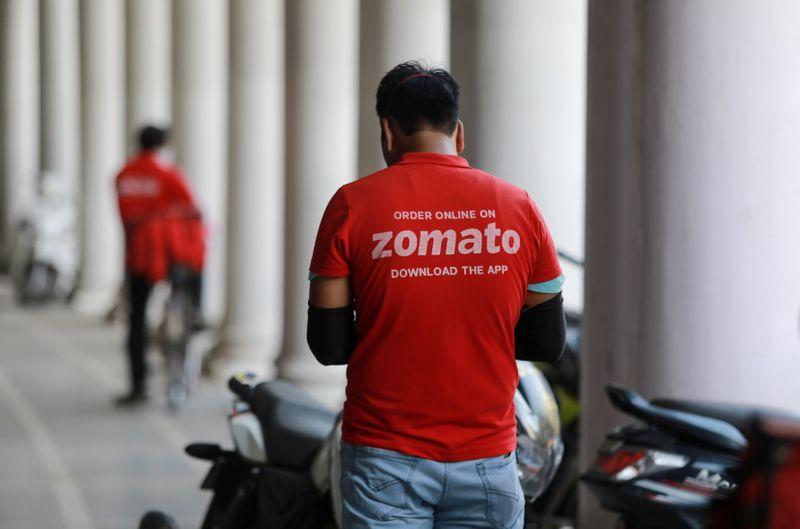 India's Zomato prices $1.25 billion IPO at 72-76 rupees per share