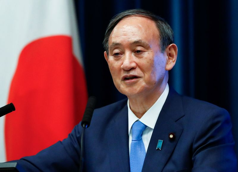 Japan PM Suga declares state of COVID-19 emergency in Tokyo