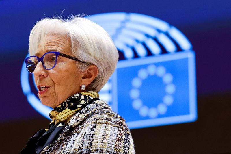 Lagarde comments at ECB press conference
